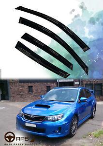 For Subaru IMPREZA WRX 08-14 Deflector Window Visors Guard Vent Weather Shield