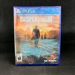 Desperados Iii Ps4 Playstation 4 Brand New 811994021755 Ebay
