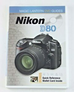 190375 nikon d80 dvd digital user guide ebay rh ebay com Nikon D80 Manual Mode Nikon D80 Battery Charger