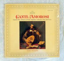 Canti Amorosi - Nigel Rogers - LP