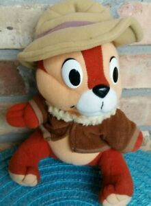 Vintage-Disney-Chip-N-Dale-Rescue-Rangers-Playskool-1989-Plush-034-Chip-034-9-034-1980s