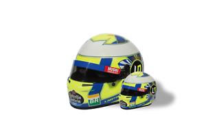 McLaren Lando Norris 2019 F1 Race Helmet 1//2 Scale Replica