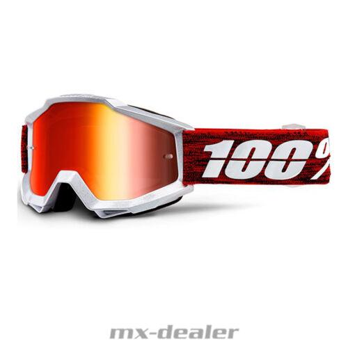 2019 100 /% Prozent Accuri Graham verspiegelt MX Motocross Cross Brille BMX MTB