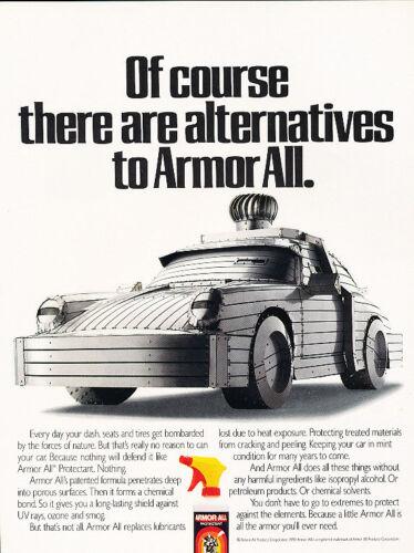 1990 Porsche 911 Armor All Original Advertisement Car Print Ad J504