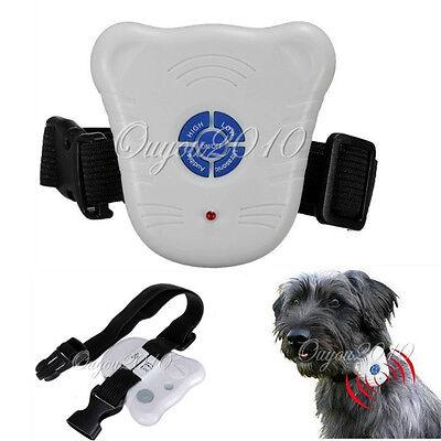Mini Dog Stop Barking Collar Anti Bark Aid Control Ultrasonic Sound Training Hot