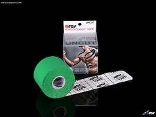 Ares Tape Uncut - Kinesiology Elastic Sports Tape PRO - Green - Support KT