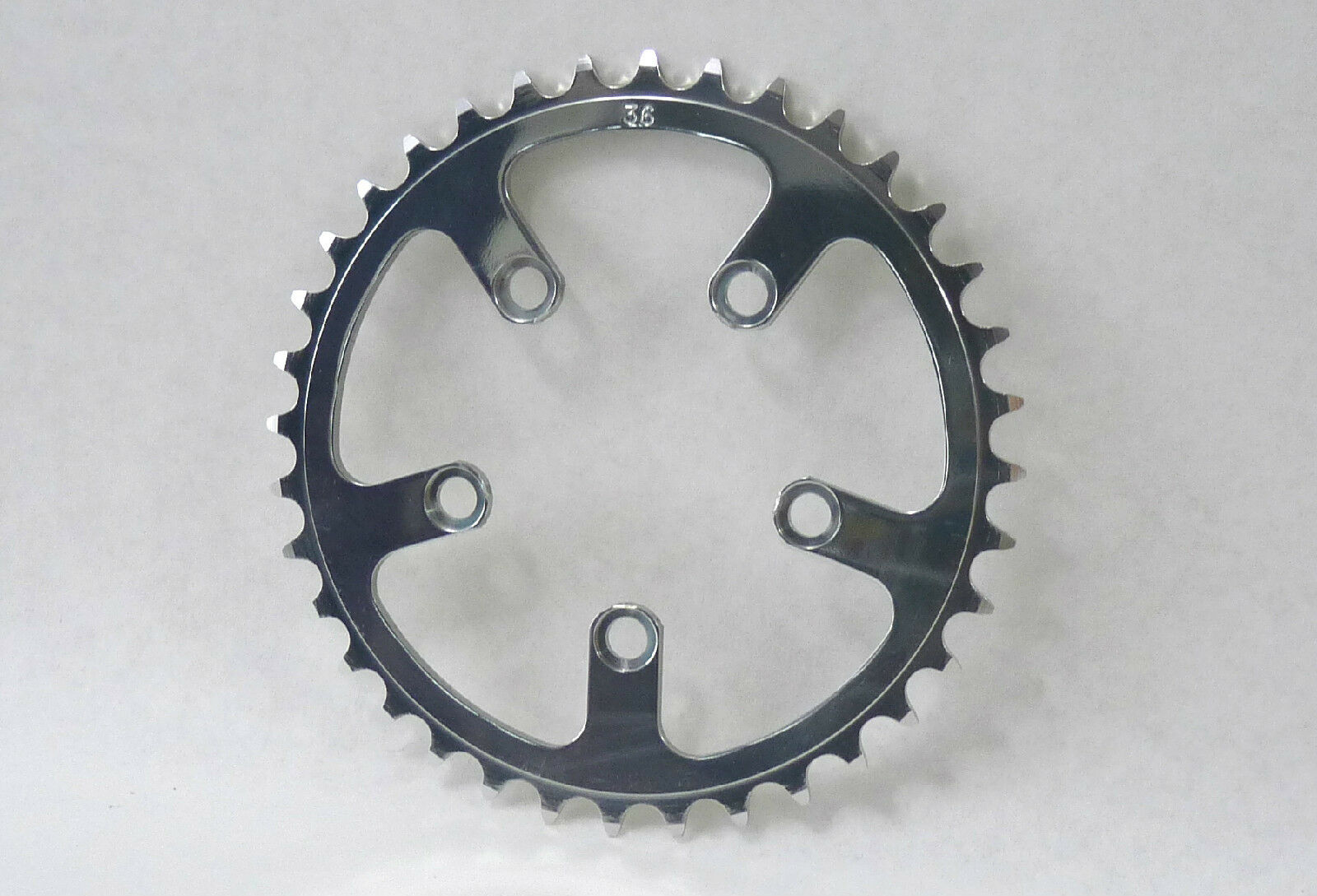 T.A. Chainring 36T 74 BCD  Zicral Aluminum  3 32  VINTAGE old style NOS  large discount