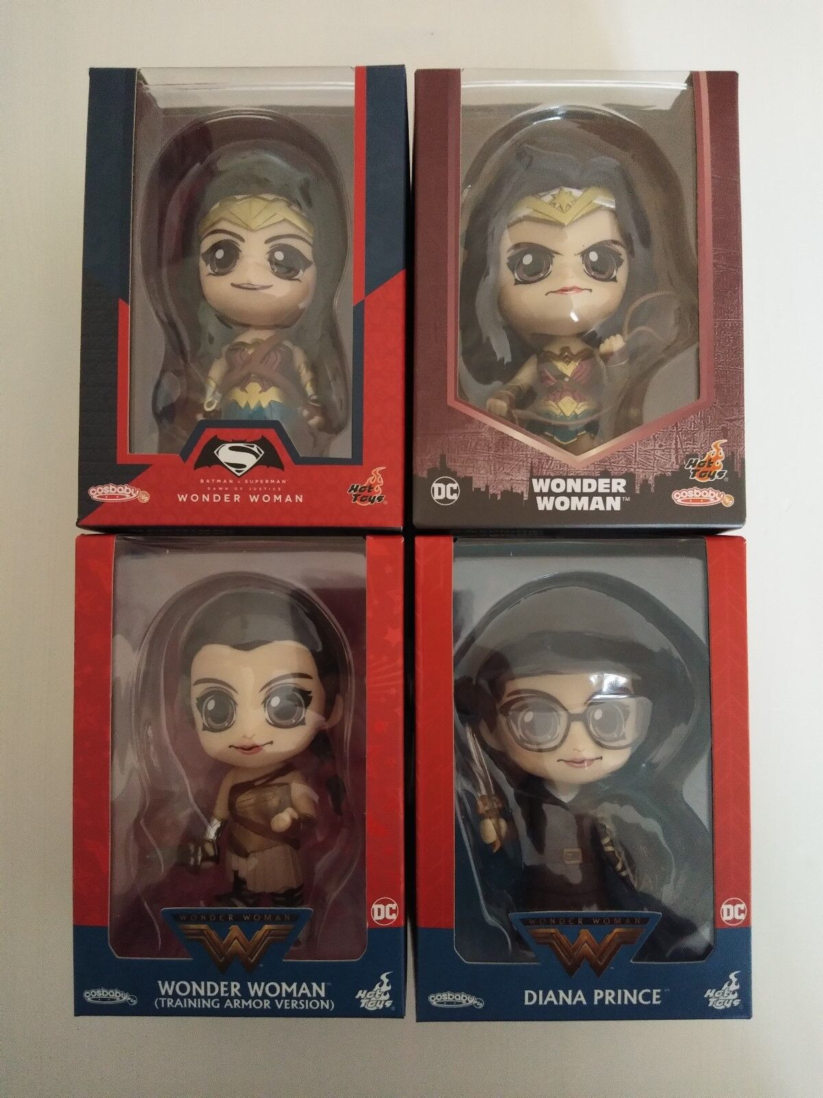 Hot Toys Cosbaby - Wonder Woman Collection (Justice League, Dawn of Justice etc)