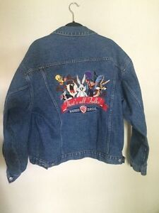 Are vintage looney tunes denim shirts