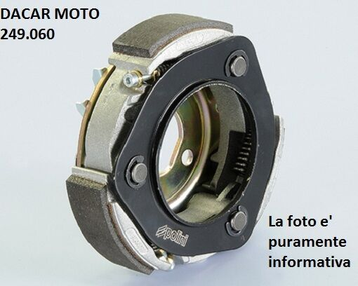 249.060 Polini Embrague 3g For Race D.134 Piaggio Liberty 125/150 (Leader)