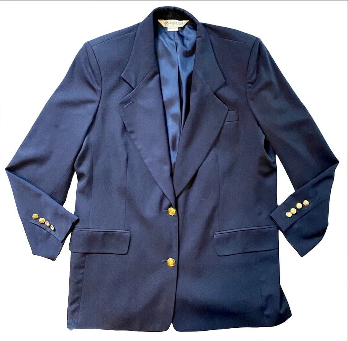 Kupit Austin Reed Vintage 100 Worsted Wool Blazer Navy Na Aukcion Iz Ameriki S Dostavkoj V Rossiyu Ukrainu Kazahstan