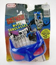 VINTAGE BATMAN NASTA BLUE MASK SUNGLASSES 1990 BATMAN DC COMICS TOY GLASSES NOS