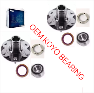 FRONT-WHEEL-HUB-amp-KOYO-BEARING-amp-SEAL-FOR-TOYOTA-TUNDRA-2001-2006-2WD-ONLY-PAIR