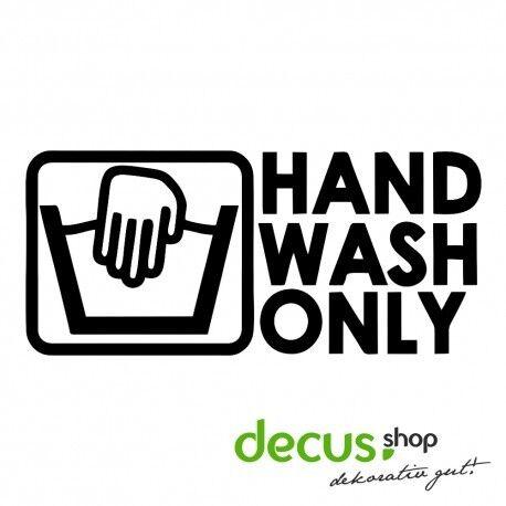 Mano Wash only //// sticker JDM pegatinas parabrisas