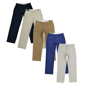 Polo Ralph Lauren Mens Classic Fit Chino Pants Flat Front Business Bottoms Nwt