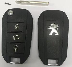 ORIGINAL-Cle-Telecommande-Complete-Peugeot-208-2008-308-508-AES-A4-434mhz