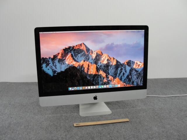 """Apple 27"""" iMac (MD063LL/A) Desktop w/ i7-2600, 1.0TB HDD. 8GB RAM, & High Sierra"""