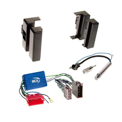 Bose 94-99 radio del coche Kit de integracion cable radio diafragma negro adaptadores Audi a 8