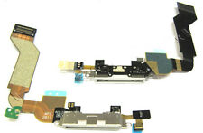 iPhone 4S Data SYNC Charging Block Port Dock Assembly Flex Cable with Mic White