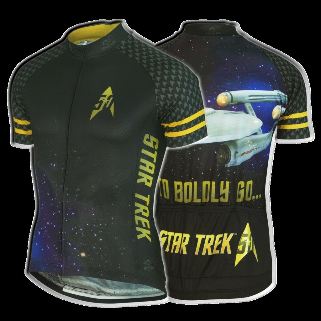 Brainstorm Femme Gear Star Trek  50th Anniversaire  Maillot de cyclisme