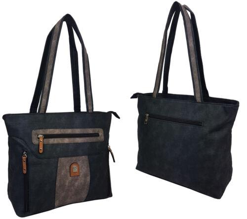 Neu Damentasche Bag Handtasche Shopper Tragetasche 17676-1