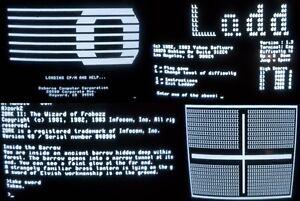 Osborne 1 / 1A System/bootdisk 5 DISKS CP/M,Games,ZORK 1,2,3,System Diagnostic