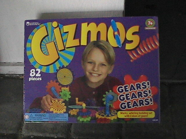 GIZMOS GEARS  GEARS  GEARS    BUILDING SET NEW AND SEALED 82 PIECES 7+ 26d74c
