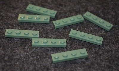 LEGO New Lot of 20 Dark Green 1x4 Plate Pieces