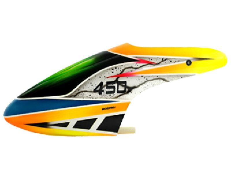 Blade 450X//3D//330X//330S Microheli Aluminum Canopy Mount Set