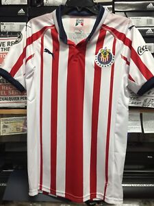 buy popular a8d34 be162 Details about Puma Chivas De Guadalajara Home Jersey 2018-19 Size Extra  Large Only