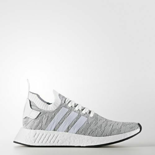 Adidas BY9410 Hommes NMD R2 PK Chaussures De Course Noir Blanc paniers