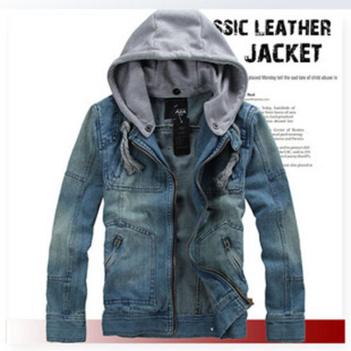 New autumn and winter new style casual jacket men/'s jeans jacket