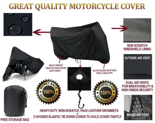 SUPER HEAVY-DUTY MOTORCYCLE COVER FOR Kawasaki Vulcan 1700 Voyager 2009-2013