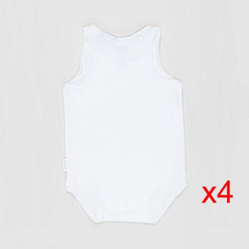 Bonds Multi Pack Baby Infant Wonderbodies Singletsuit Bodysuit Wondersuit 0000-2