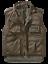 Brandit Ranger Weste Army Militär Anglerweste Bundeswehr Camouflage Camo Wandern