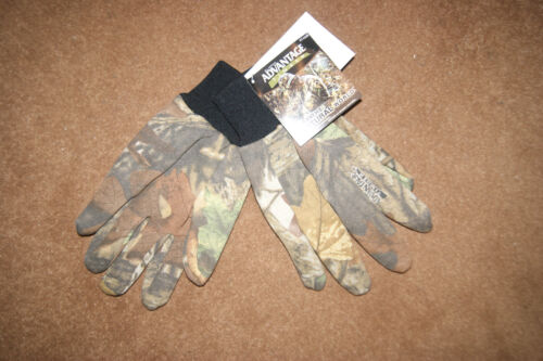 ADVANTAGE TIMBER CAMOUFLAGE HUNTING SHOOTING JERSEY COTTON GLOVES realtree camo