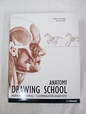 2006 1st ed. ANATOMY DRAWING SCHOOL Human Animal Comparative Anatomy  B314