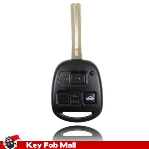 NEW Keyless Entry Key Fob Remote For a 2001 Lexus IS300 3BTN Trunk Short Blade