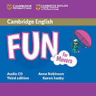 Fun for Movers Audio CD by Anne Robinson, Karen Saxby (CD-Audio, 2015)