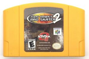 Tony-Hawk-039-s-Pro-Skater-2-Nintendo-64-N64-2001-Game-Only-Authentic