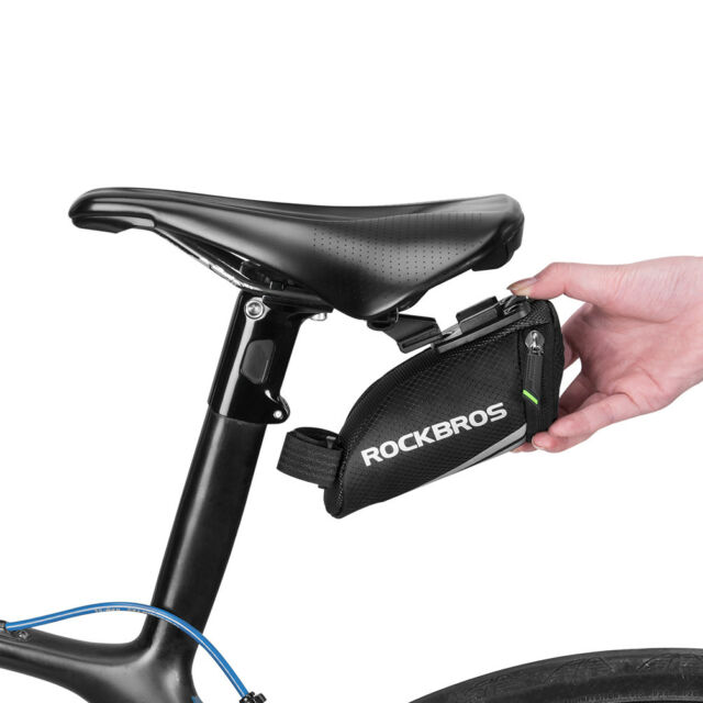 Behind-the-Saddle Bicycle Seat Bag /& Clip Forzza Carbon MINI CLEARANCE SALE