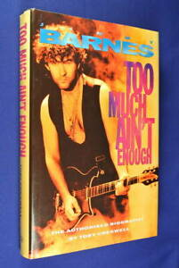 JIMMY-BARNES-Too-Much-Ain-039-t-Enough-Toby-Cresswell-BOOK-HCDJ-Biog-Cold-Chisel