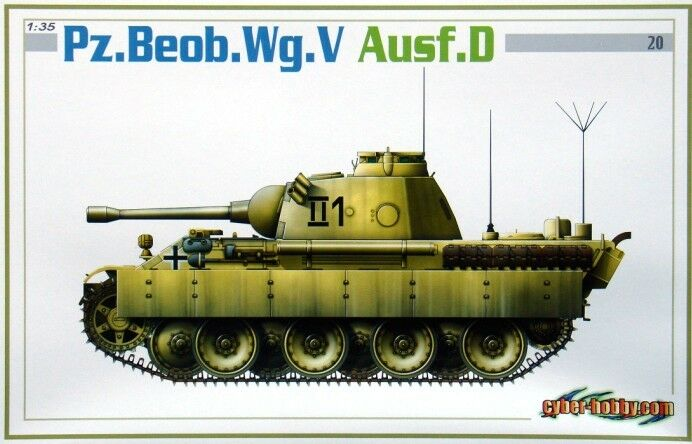 Dragon 1 35 6419 Pz.Beob.Wg.V Ausf.D Model kit