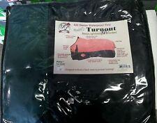 Tough-1 420 Denier Winter Waterproof Turnout Horse Blanket  84 hunter green/blac