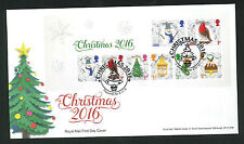 2016-Christmas Mini S FDC Treesmill, Par Postmark-Sent Post Free
