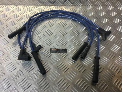 Azul 8MM rendimiento ignición conduce cabrá Ford Capri 2.8 colonia V6 Ht Lidera