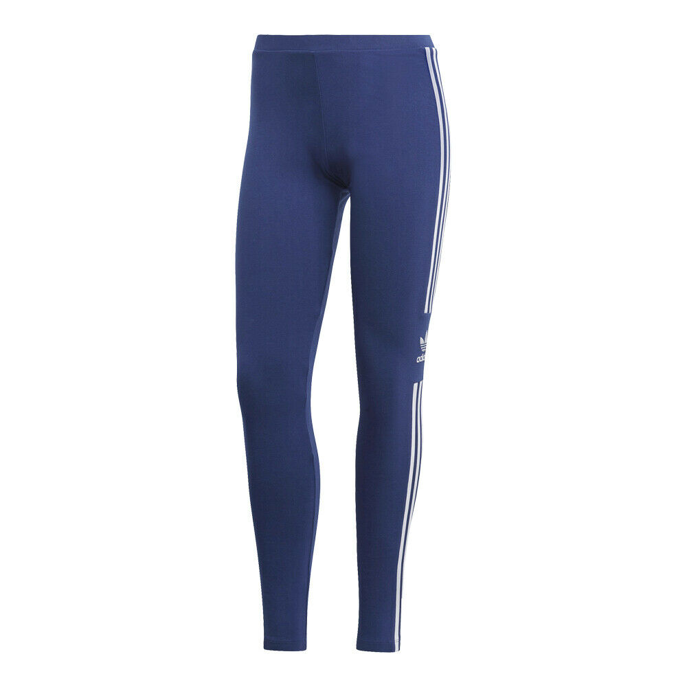 Adidas Women's Originals Trefoil Leggings  bluee White - DV2634