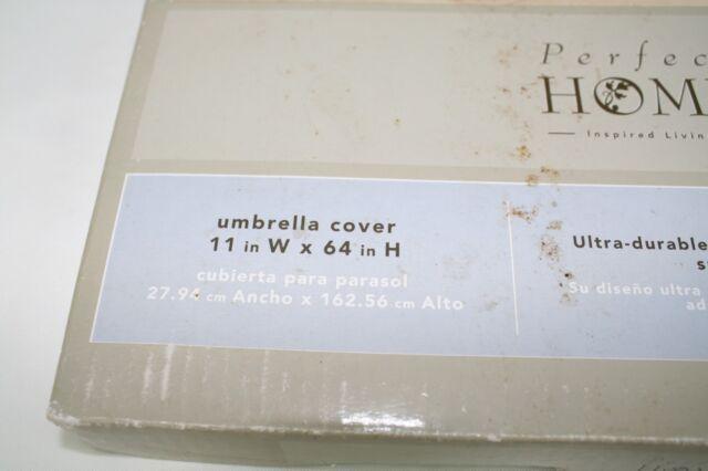 Protective Covers Weatherproof Umbrella Cover Gray 6 x 8 Feet