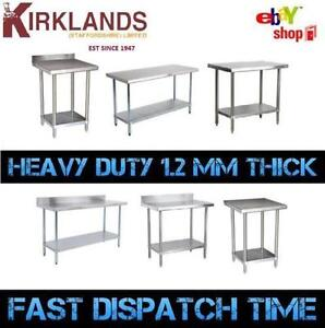 Foot Mm Ft Stainless Steel Table Work Bench Catering Table - 5 ft stainless steel table