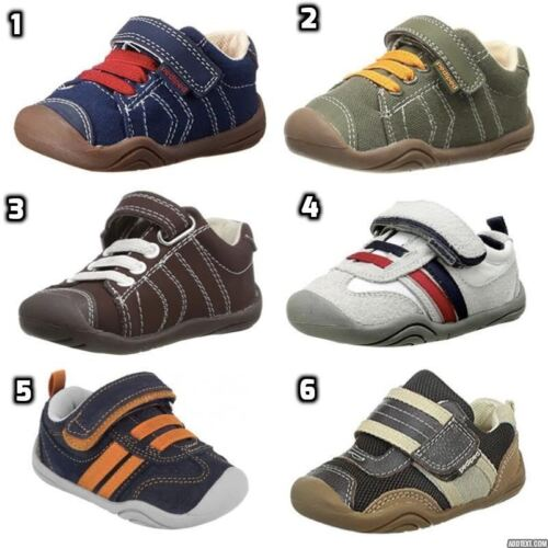 Pediped Boys Kids Baby Toddler First Infant Grip Non Slip Sole Shoes Walkers
